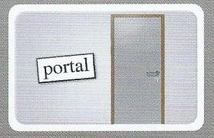Portal-kort i spise med price