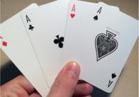 Her ses et udpluk fra et kortspil